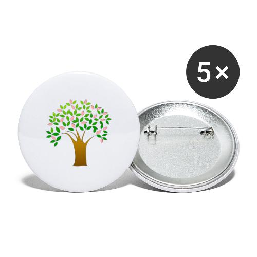 Tree of Life - Buttons large 2.2''/56 mm(5-pack)