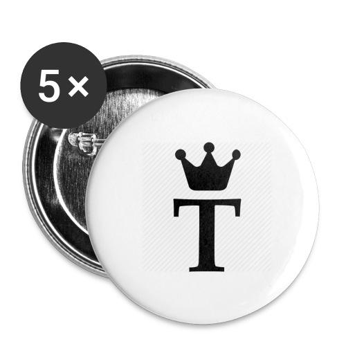 King Tobias of Norway - Stor pin 56 mm (5-er pakke)
