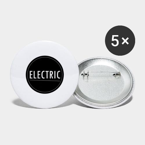 Electric - Buttons groß 56 mm (5er Pack)