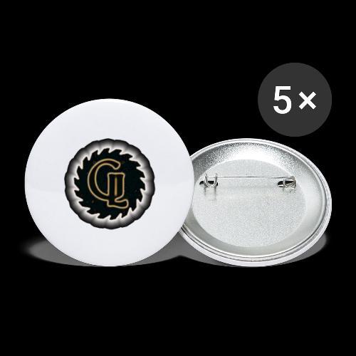 Glimmer logo - Stor pin 56 mm (5-er pakke)