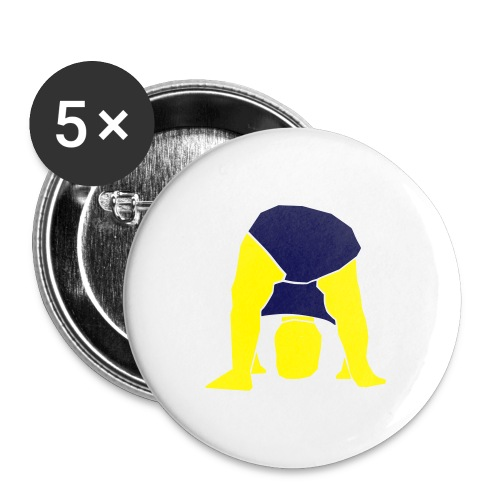 baby cabeca - Buttons large 2.2''/56 mm (5-pack)