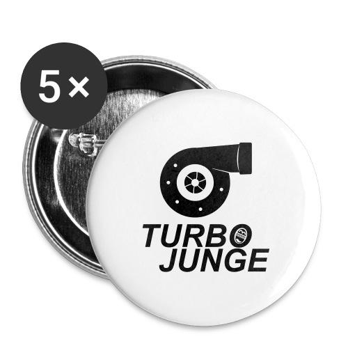 Turbojunge! - Buttons groß 56 mm (5er Pack)