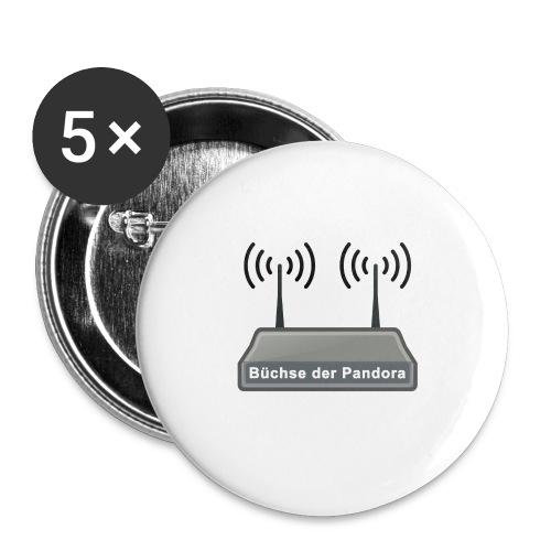 Büchse der Pandora - Buttons groß 56 mm (5er Pack)