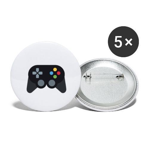 Spil Til Dig Controller Kollektionen - Buttons/Badges stor, 56 mm (5-pack)