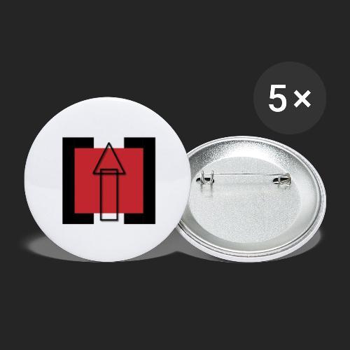 TechUPWorld Accessoirs - Buttons groß 56 mm (5er Pack)