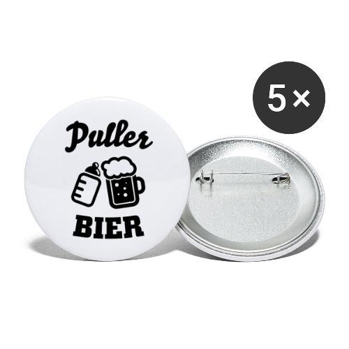 Puller Bier - Buttons groß 56 mm (5er Pack)