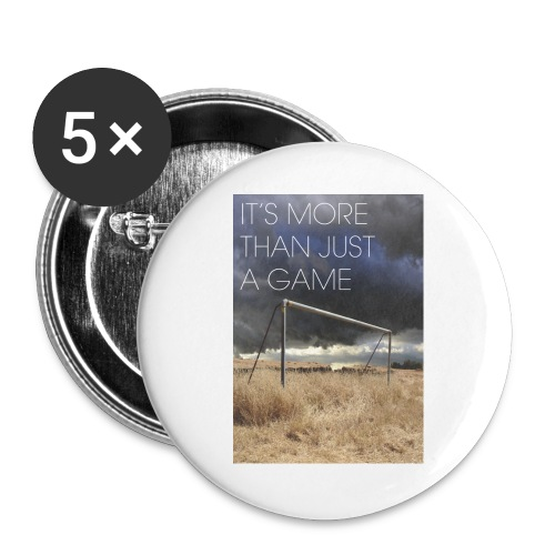 more - Buttons large 2.2''/56 mm(5-pack)