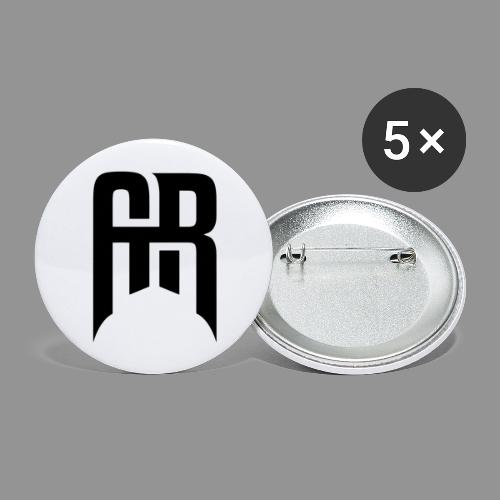 Aristic Symbol - Stora knappar 56 mm (5-pack)