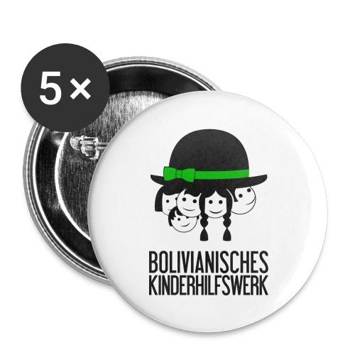 bkhw logo 4c gross - Buttons groß 56 mm (5er Pack)