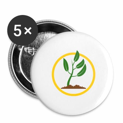 Setzlingemblem - Buttons groß 56 mm (5er Pack)
