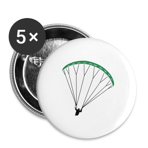 Paraglider Nikita - Buttons large 2.2''/56 mm (5-pack)