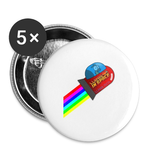 tdsign - Buttons large 2.2''/56 mm (5-pack)