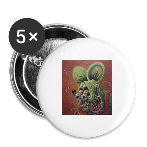 Rat hole - Paquete de 5 chapas grandes (56 mm)