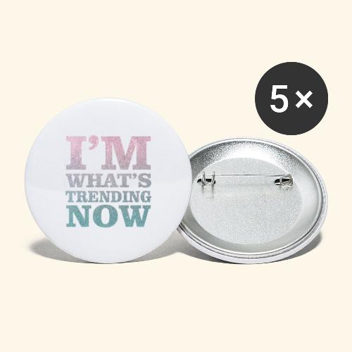 Trending - Buttons large 2.2''/56 mm(5-pack)