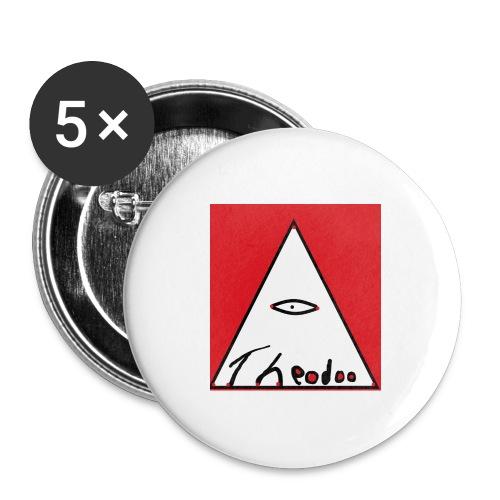 theodoo 1 - Stora knappar 56 mm (5-pack)