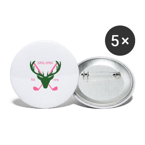 Eifel Open Logo Shirt 1 - Buttons groß 56 mm (5er Pack)
