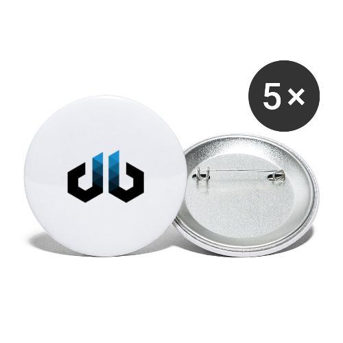 digitalbits Logo - Buttons groß 56 mm (5er Pack)