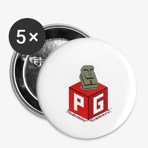 Preikestolen Gamers - Stor pin 56 mm (5-er pakke)