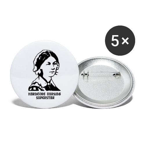 HC Nursing Superstar - Florence Nightingale - Rintamerkit isot 56 mm (5kpl pakkauksessa)