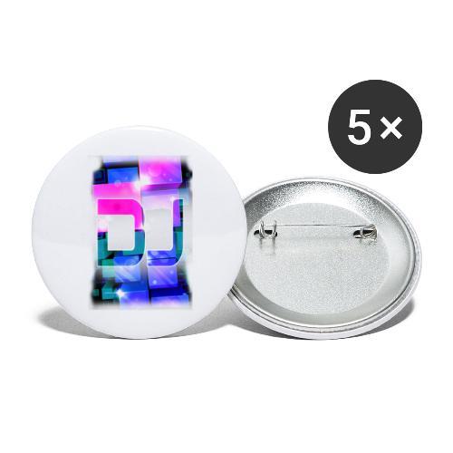 DJ by Florian VIRIOT - Lot de 5 grands badges (56 mm)
