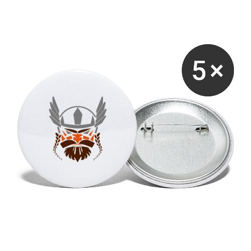 smosviking - Buttons groot 56 mm (5-pack)