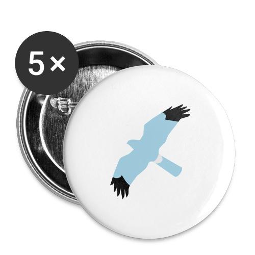BAWC HHD Splat Design v3F - Buttons large 2.2''/56 mm(5-pack)