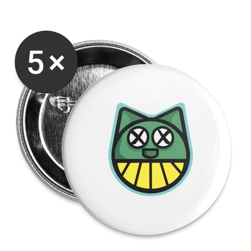 ZOMBIE CAT PRINT HOODIE - Buttons large 2.2''/56 mm(5-pack)