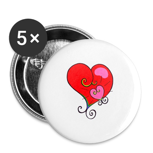 Magic Mother & Magic Child - Buttons large 2.2''/56 mm (5-pack)
