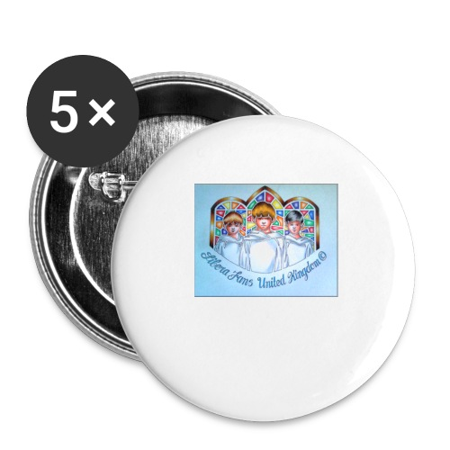 L F UK - Buttons large 2.2''/56 mm (5-pack)