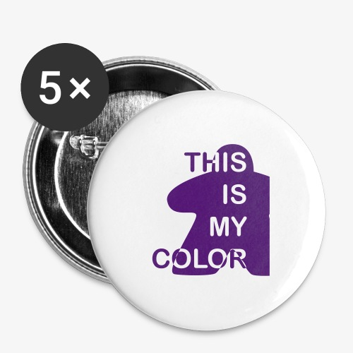 That is my Color - Stor pin 56 mm (5-er pakke)