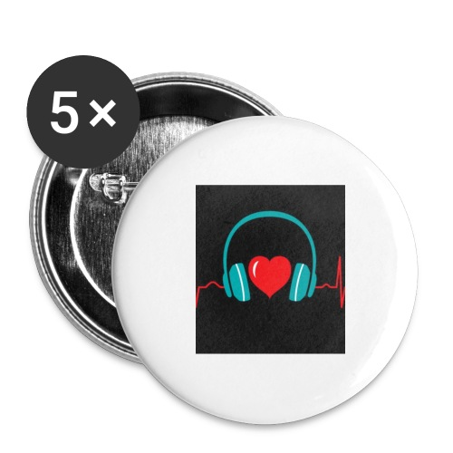Victoria Sowinska - Buttons large 2.2''/56 mm (5-pack)