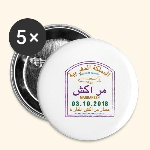 marrakeche - Lot de 5 grands badges (56 mm)