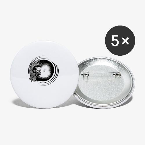 Streetpunk - Lot de 5 grands badges (56 mm)