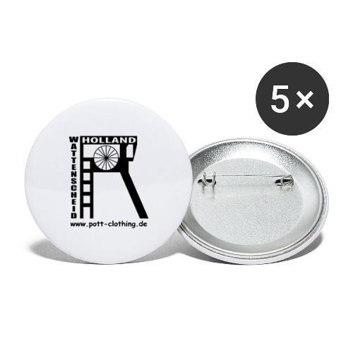 Zeche Holland (Wattenscheid) - Buttons groß 56 mm (5er Pack)