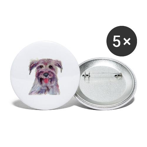 pyrenean shepherd - Buttons/Badges stor, 56 mm (5-pack)
