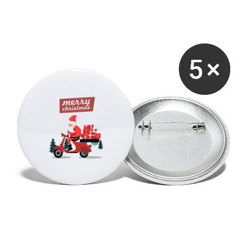 Gift 04 - Lot de 5 grands badges (56 mm)