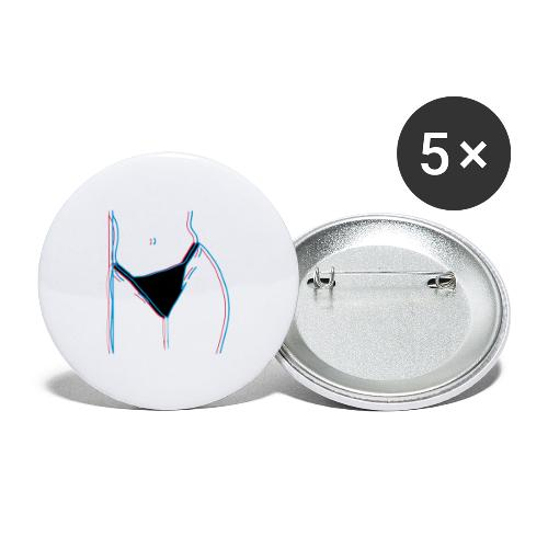 chubby love - Stora knappar 56 mm (5-pack)