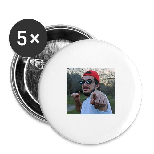 Lasaña13 señalandote - Paquete de 5 chapas grandes (56 mm)