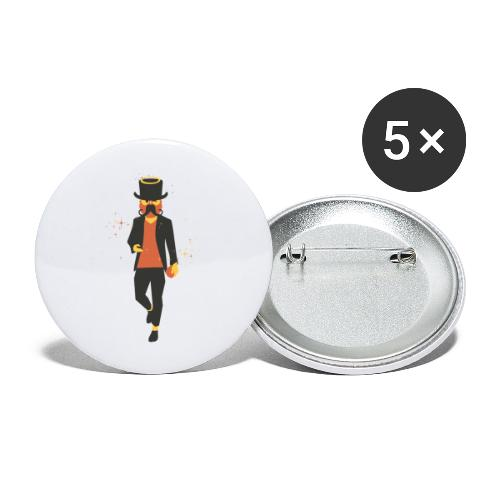 Dugly by Dougsteins - Buttons large 2.2''/56 mm(5-pack)