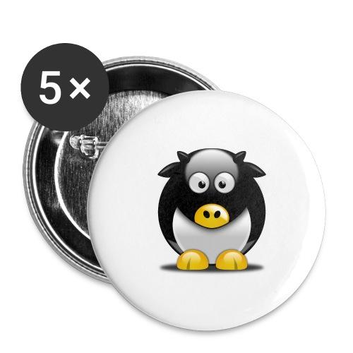 Mascotte MayLUG - Lot de 5 grands badges (56 mm)