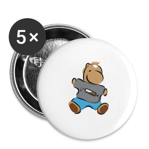 Breitmarra - Buttons groß 56 mm (5er Pack)