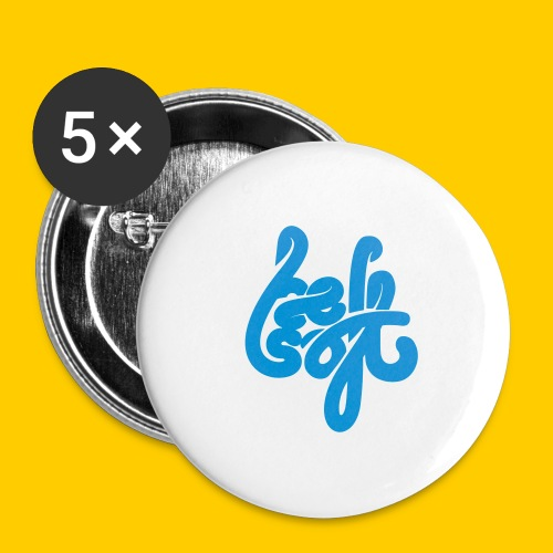 Be Soft - Stora knappar 56 mm (5-pack)