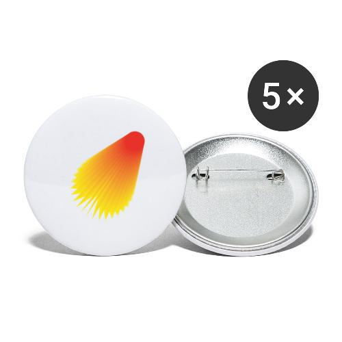 shuttle - Buttons large 2.2''/56 mm(5-pack)