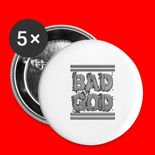 BadGod - Buttons large 2.2''/56 mm(5-pack)