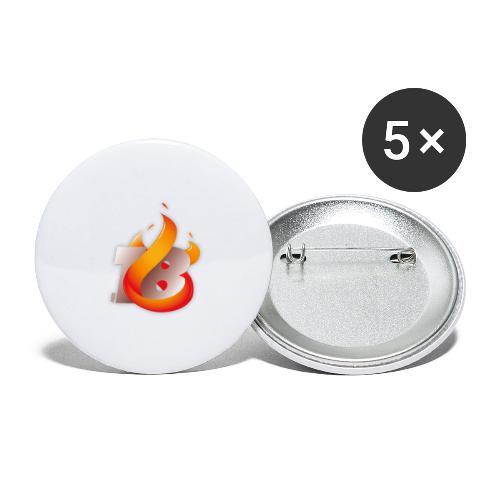 MCS 2018 - Buttons groß 56 mm (5er Pack)