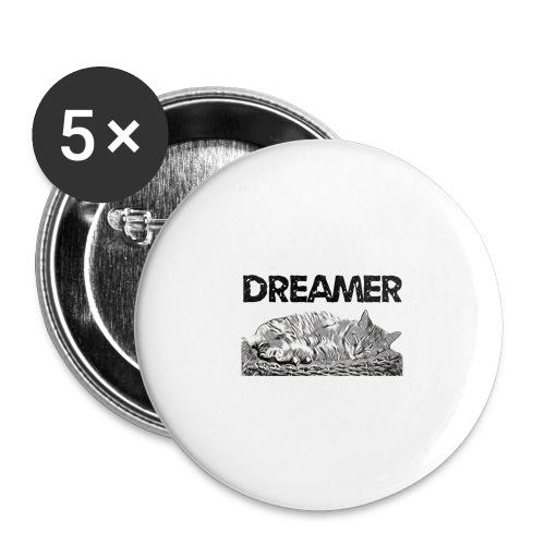 Dreamer - Confezione da 5 spille grandi (56 mm)