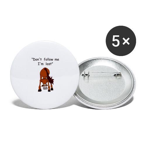 lost - Buttons groß 56 mm (5er Pack)