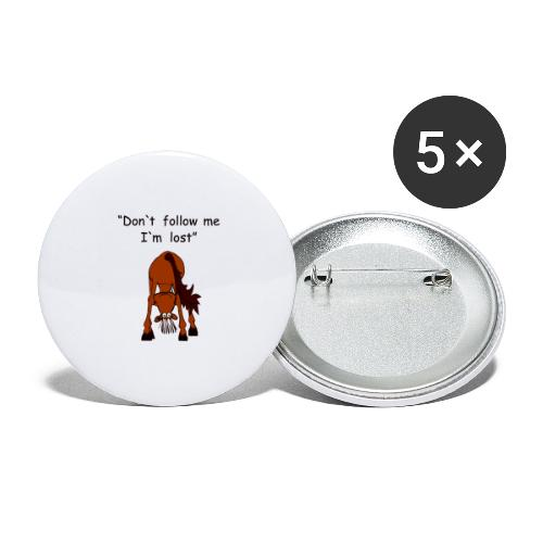 lost - Buttons groß 56 mm (5er Pack)