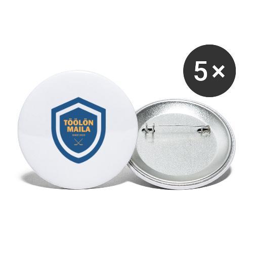 Töölön Maila - Rintamerkit isot 56 mm (5kpl pakkauksessa)