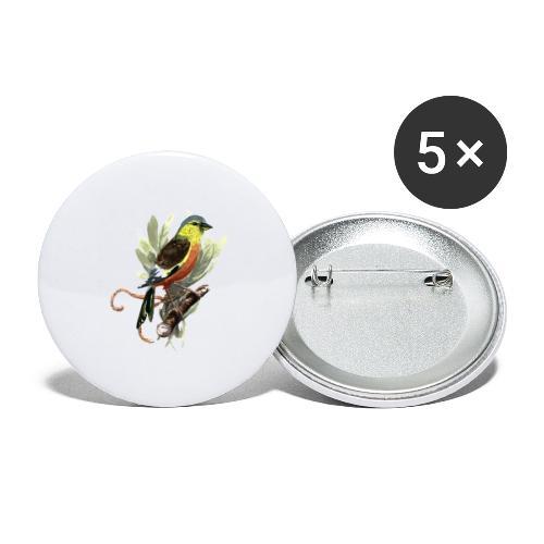 Meise - Buttons groß 56 mm (5er Pack)